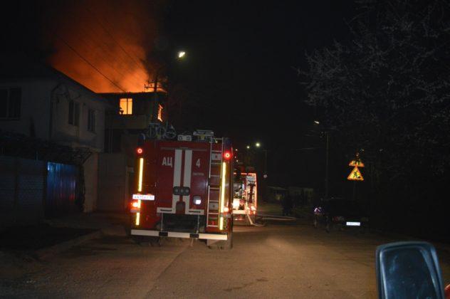 Пожар в Севастополе
