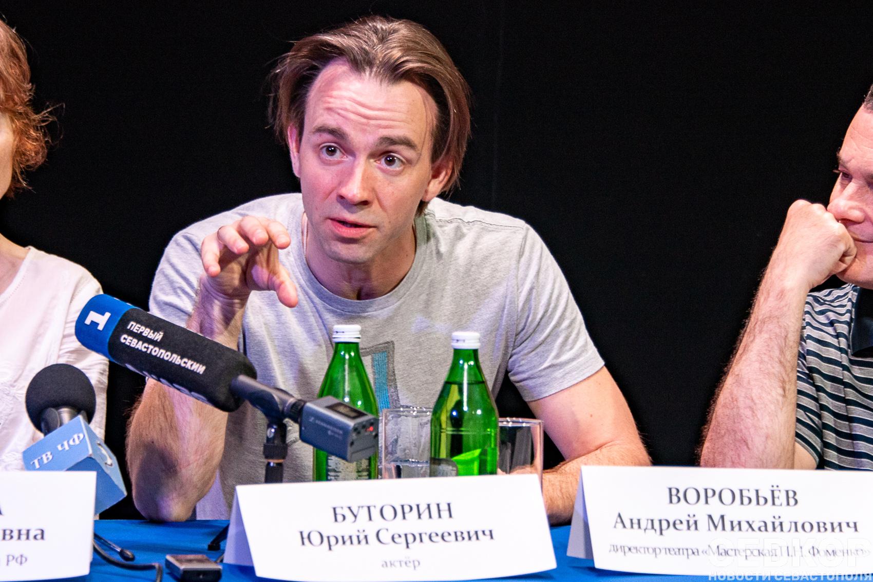 гастроли Мастерской Петра Фоменко в Севастополе со спектаклем «Египетские ночи»